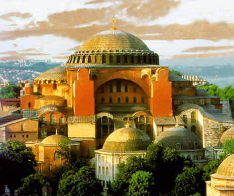 Ancient Byzantine church, Hagia Sophia