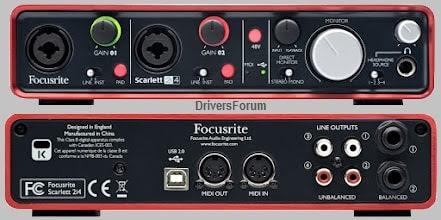 Focusrite-Scarlett-2i4-Drivers