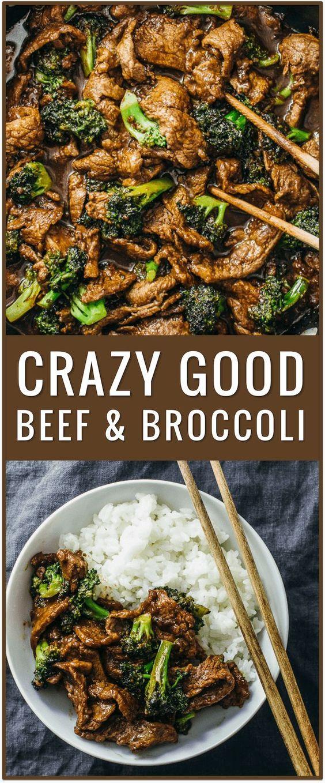 CRAZY GOOD BEEF AND BROCCOLI #beef #goodbeef #broccoli #beefrecipes #dinnerrecipes #dinnerideas #easydinnerrecipes