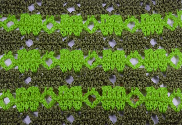4 - Crochet Puntada de cuadrados a crochet y ganchillo Majovel Crocher baretas paso a paso doble facil sencillo