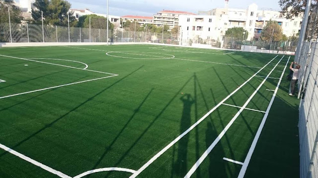 Gambar Lapangan Sepak Bola Bagus