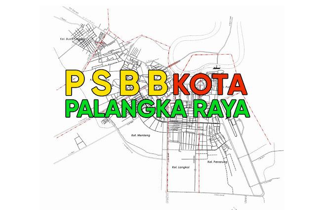 Palangka Raya Terapkan PSBB