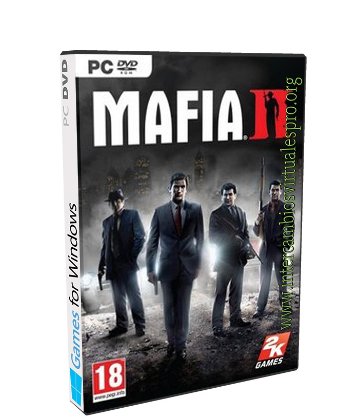 Mafia II poster box cover