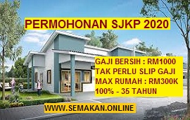 Cara Mohon Skim Jaminan Kredit Perumahan (SJKP) 2020