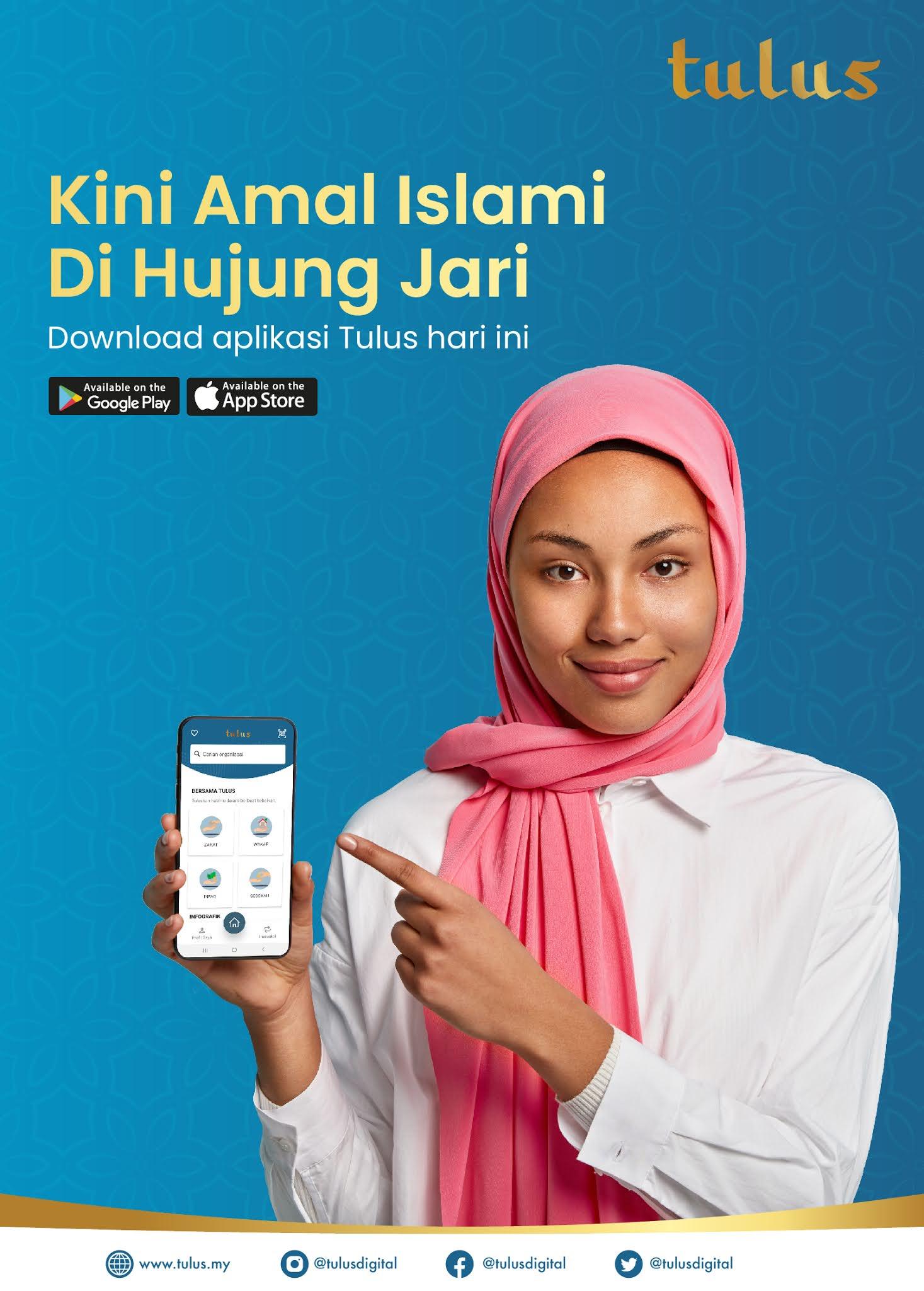 Pembayaran Zakat Fitrah 1442H Menggunakan Aplikasi Tulus