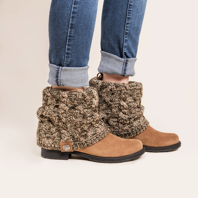 Jane: MUK LUK Cass Booties only $36 (reg $76)!