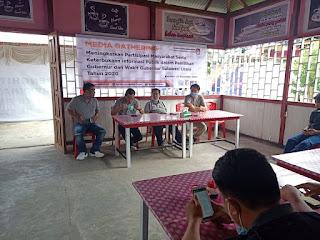 Gelar Media Gathering, KPU Mitra : Peran Pers  Penting Dalam Penyebaran Informasi