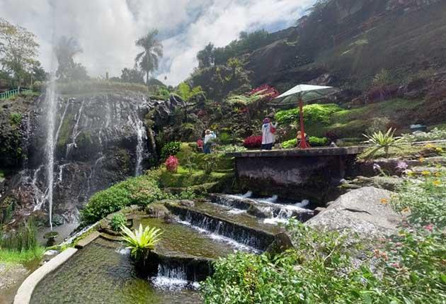 Air Mancur Lokawisata Baturraden
