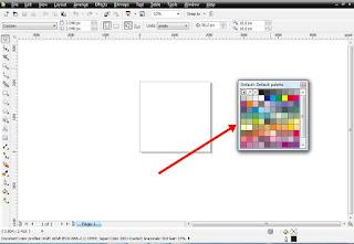 cara ketiga memunculkan color palette