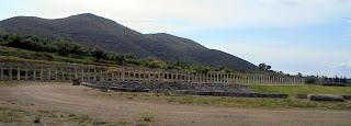 Στοές του Γυμνασίου στην Αρχαία Μεσσήνη