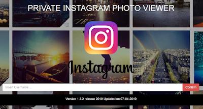 cara melihat foto akun instagram private