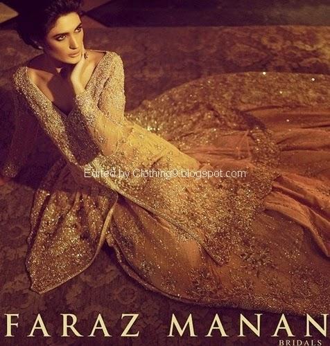 Faraz Manan Bridal Collection 2015