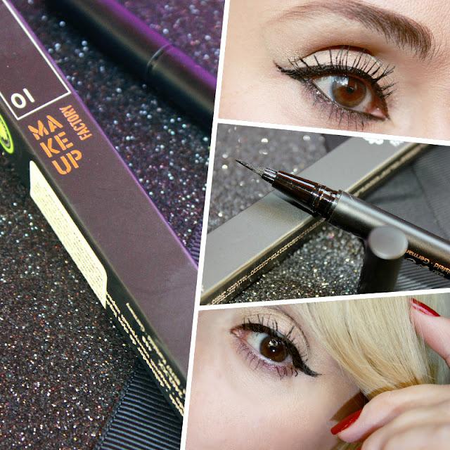 Отзыв: Новинка от Make up Factory – Каллиграфический лайнер для глаз. Calligraphic Eye Liner.