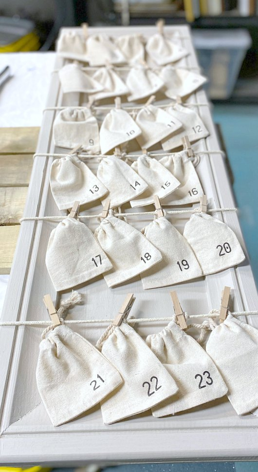 Easy to Make Advent Calendar for Christmas