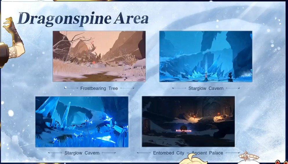 Dragonspine Mountains Screenshot