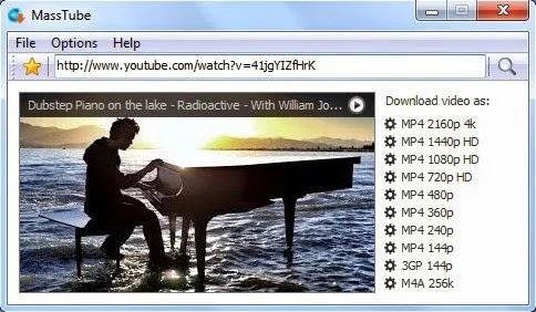 تحميل برنامج MassTube Plus 14.0.0.400 لتنزيل مقاطع فيديو YouTube