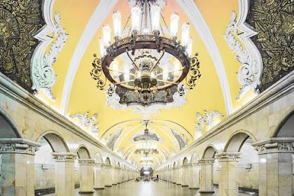 モスクワの美しい地下鉄の駅 PART2