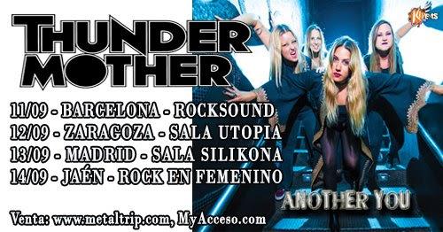 Thundermother spanish tour