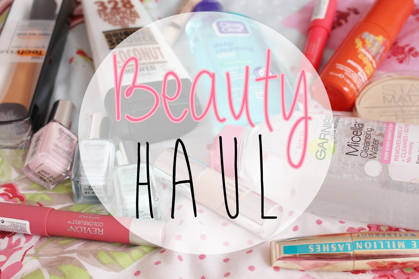 Boots Haul March 2014