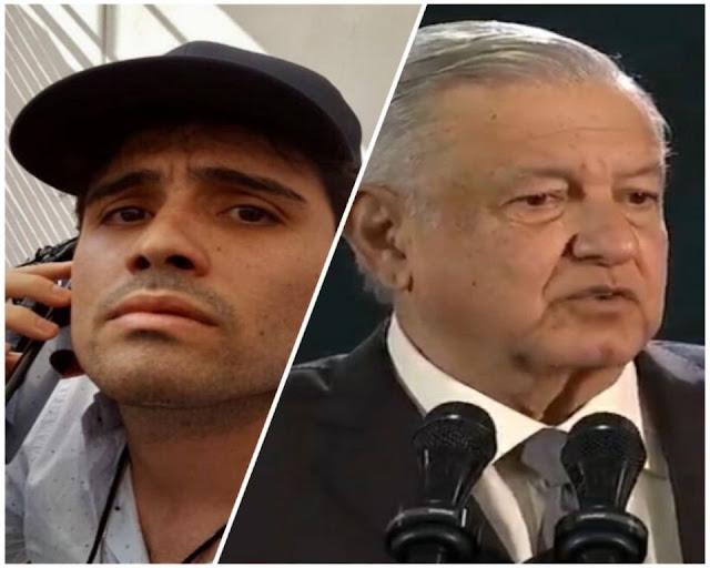 """Que ha Ovidio Guzmán, hijo del Chapo Guzmán esta siendo """"protegido"""" por el Gobierno"""