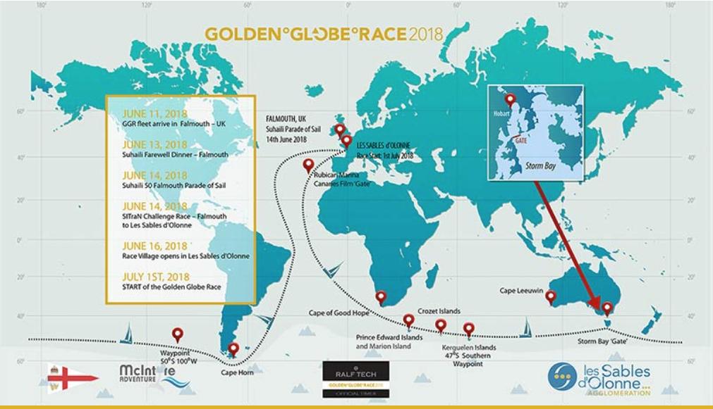 S V TAIPAN: GOLDEN GLOBE RACE 14th June 2018