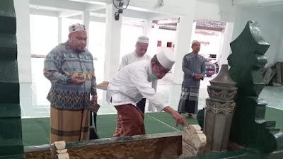 Pimpinan Ponpes Alkhairaat Kota Gorontalo Ziarah ke Makam Pendiri Alkhairaat Palu
