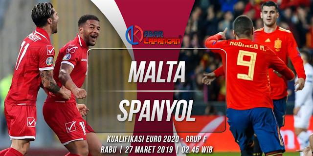 Prediksi Bola Malta vs Spanyol Kualifikasi Euro 2020