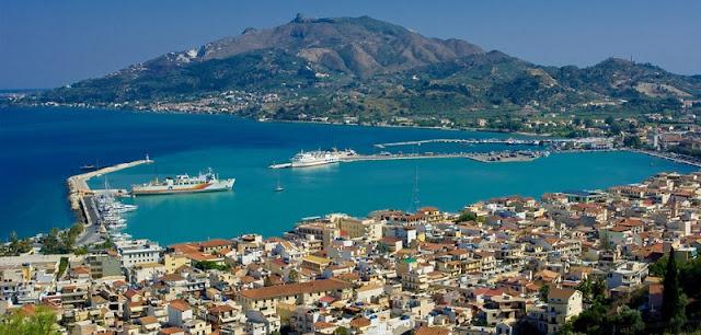 Ilha de Zaquintos, na Grécia