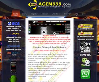 agen888 melayani anda dalam pembuatan account betting online