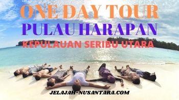 paket open trip satu hari pulau harapan