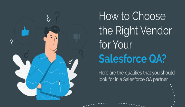 6 Tips to Evaluate the Right Salesforce QA Vendor #infographic