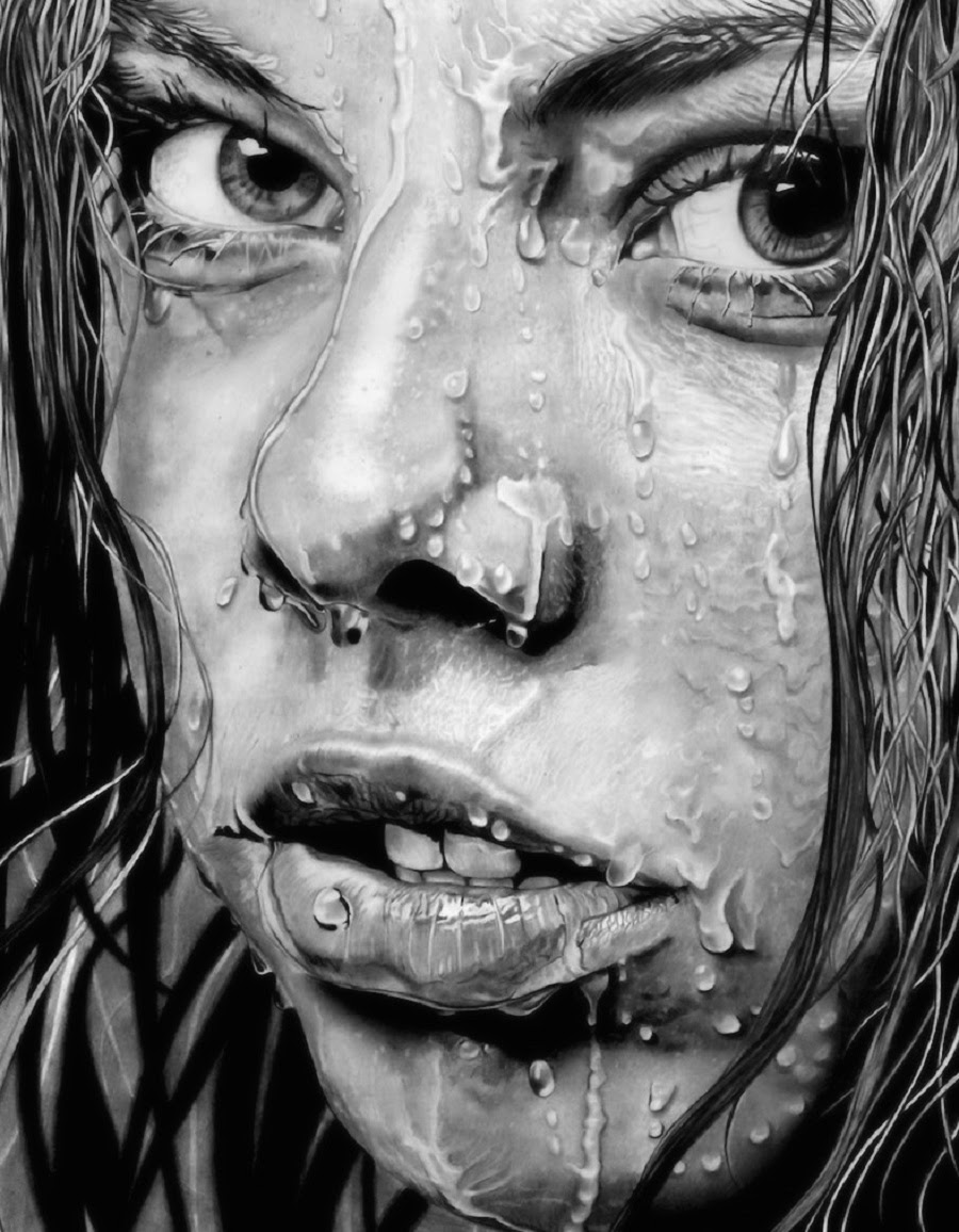 It is a world class sketch ever art by paul stowe the wet facethe people who are interested in art they most be inspired by this so keep on drawing