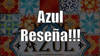 Reseña de Azul the board game