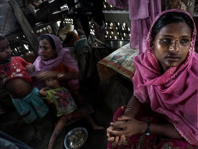 Muslimah Rohingya, 'diperkosa oleh tentara Burma dan ditinggalkan oleh suami yang menyalahkan mereka'