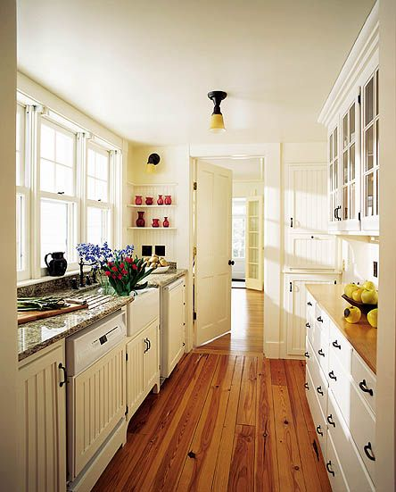 Galley Kitchen Designs Pictures Ideas Tips From Hgtv: Eye For Design: Create A Lovely Galley Kitchen