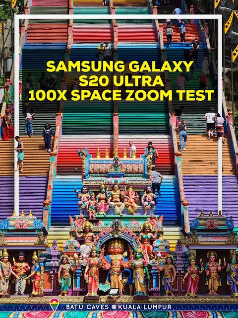 Photo taken using 5x Optical zoom on Samsung Galaxy S20 Ultra