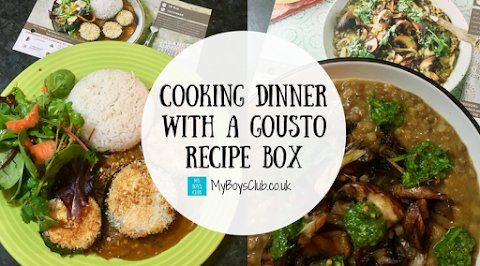 Cooking Dinner with a Gousto Recipe Box (REVIEW)