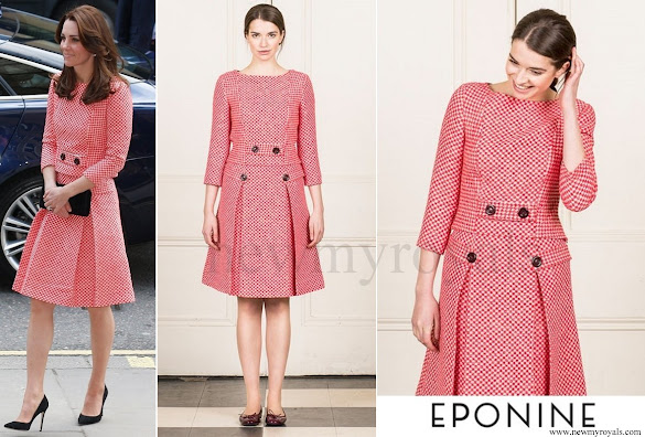 Kate Middleton wore Eponine London bespoke skirt suit