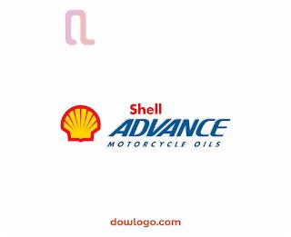 Logo Shell Advance Vector Format CDR, PNG