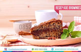 resep kue brownies, makanan-minuman.com, 0852-3610-0090