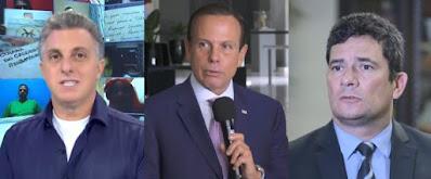Reunião Moro e Huck incomodou  governo e oposição