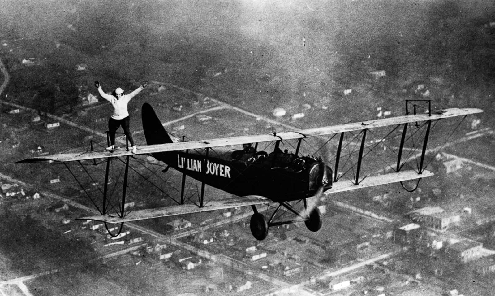 wing walkers photos