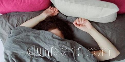 Cewek Tidur