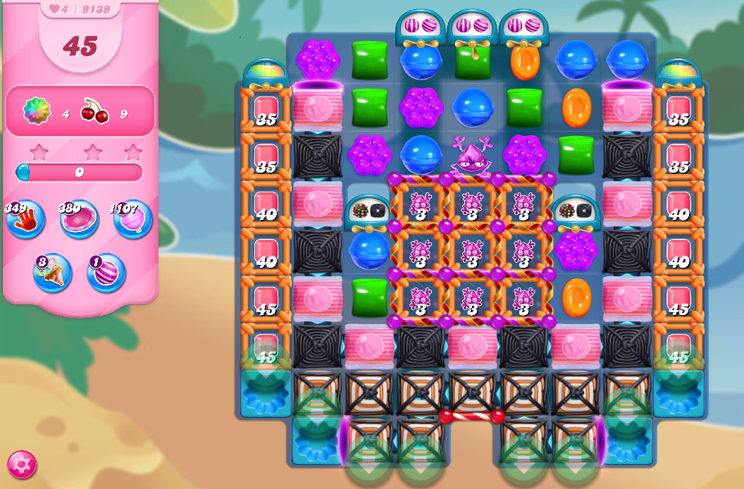Candy Crush Saga level 9139