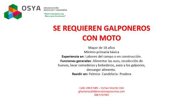 Galponeros con Moto