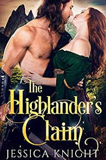 The Highlander's Claim - historical romance by Jessica Knight - book promotion services