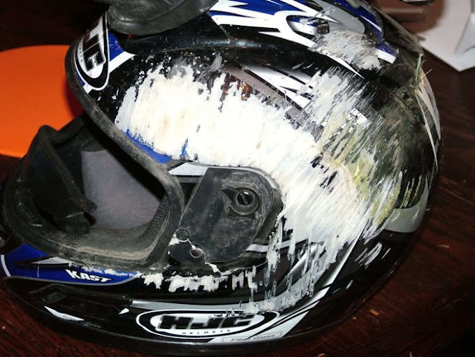 These Pictures will remind you to wear a helmet whenever you go for a road ride