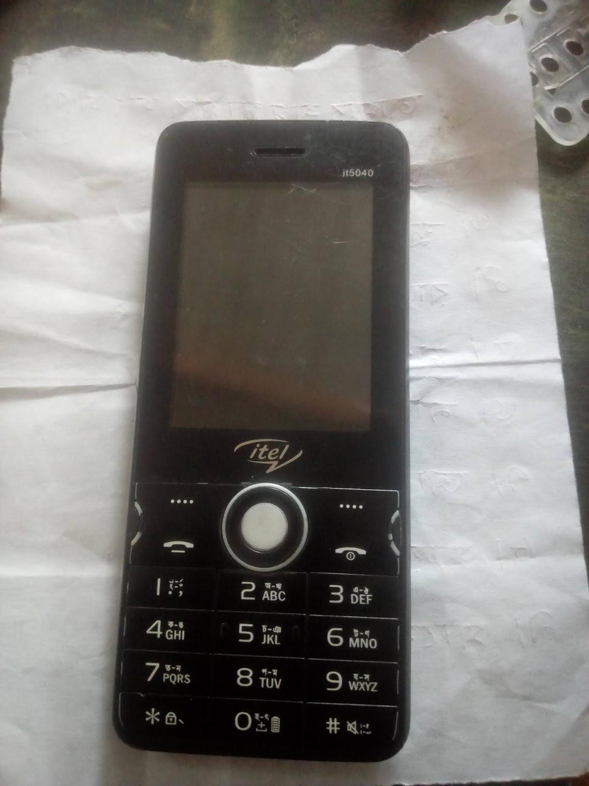 Itel_IT5040_MT6261 Flash File 100% TESTED GSM SHAKIL - SHAKIL TELECOM