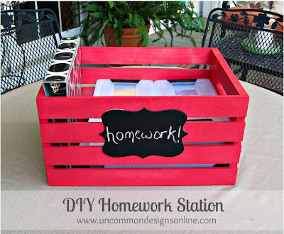 DIY Homework Station