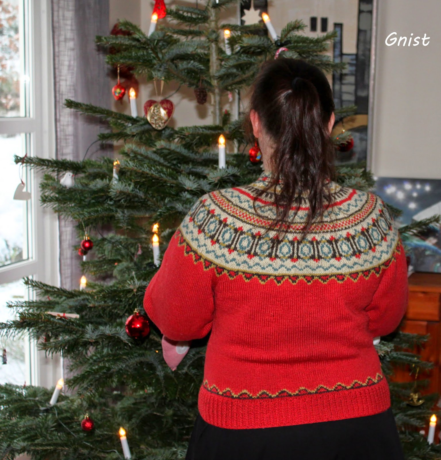 fec76b2c Ønsker alle God jul i min nye kofte :)